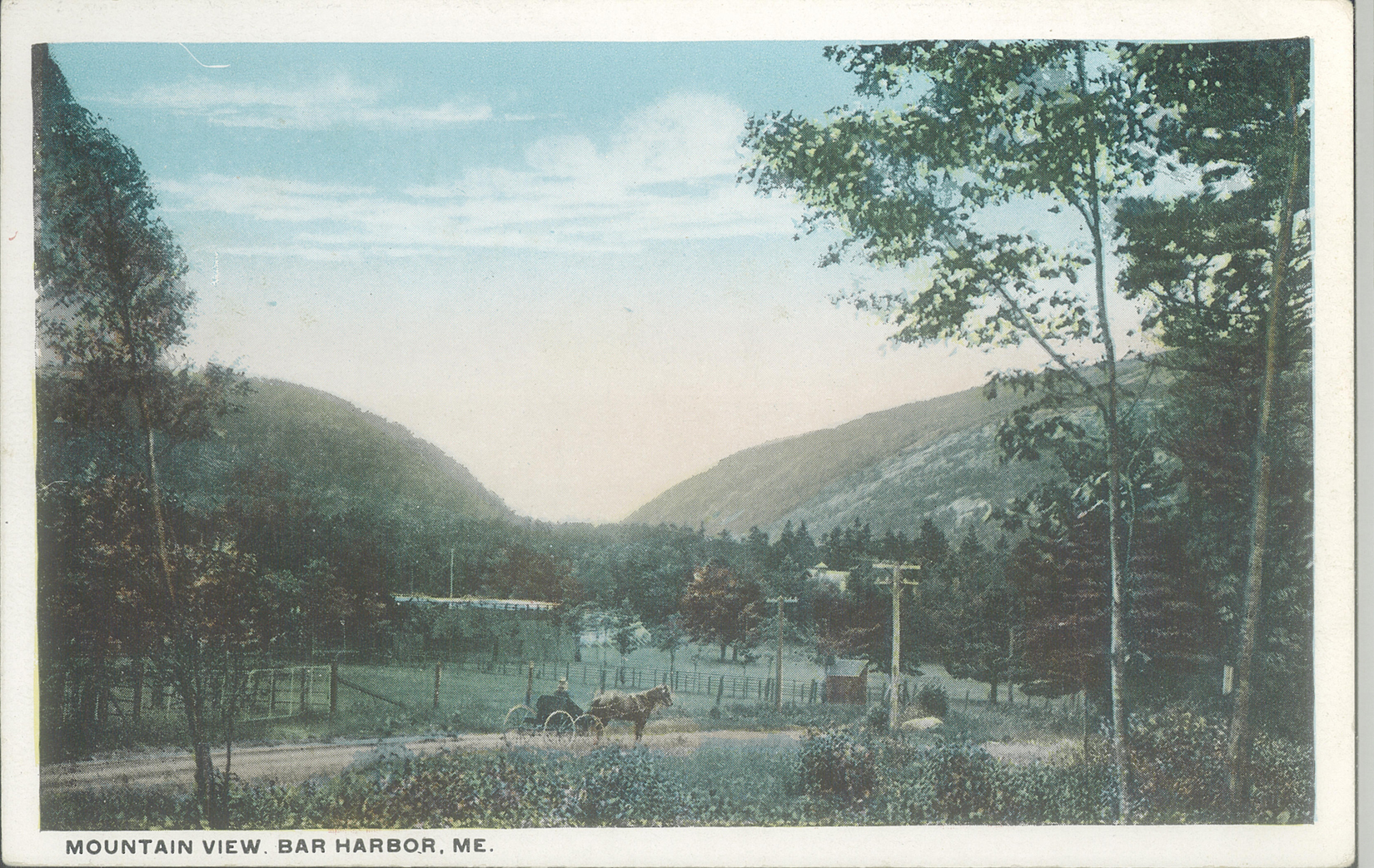 Postcards of Robin Hood Park