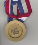 American Academy of Achievement Golden Plate Award - back