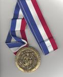 American Academy of Achievement Golden Plate Award -front