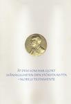 Nobel Prize certificate - left page