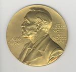Nobel Prize Medal (front) by George Davis Snell